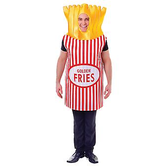 Bristol Novelty Unisex Adults French Fries Costume