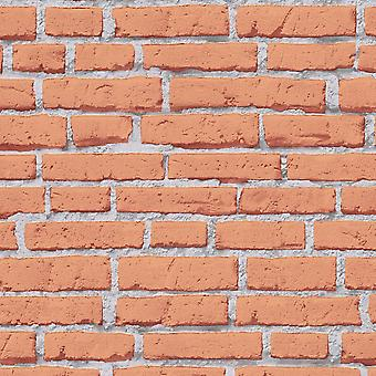 A.S. Creation AS Creation Red House Brick Pattern Tapety Faux Effect Kamień wytłoczony 319432