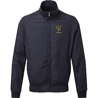 14th 20th Kings Hussars Veteran - Licensed British Army Embroidered Harrington Jacket