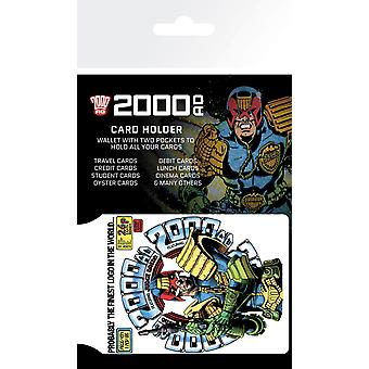 2000 AD Richter Dredd Card Holder