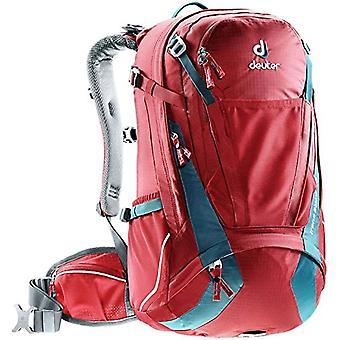 Deuter Trans Alpine 30 - Unisex-Adult Backpack - Red/Blue - Single Size