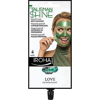 Iroha Peel Off Mask Green Emerald Deep Cleanser For Women