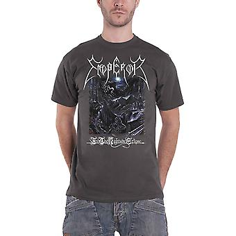 Emperor T Shirt In The Nightside Eclipse Band Logo new Official Mens Charcoal