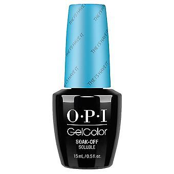 OPI GelColor Gel Color - Soak Off Gel Polish - The I's Have It 15ml (GC BA1)