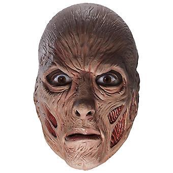Freddy Krueger Nightmare on Elm Street Horror Horror Mens Costume Vinyl Mask
