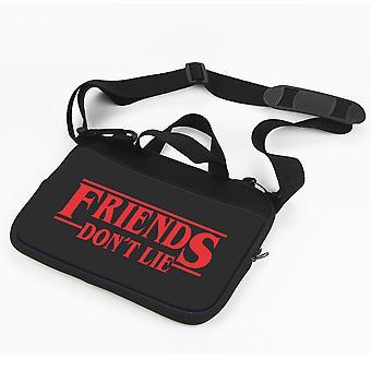 Lucruri ciudate laptop caz-prieteni Don & APOS; t Lie geantă de laptop 13 ' '