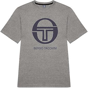 Sergio Tacchini Iberis T-Shirt Grey/Navy 85