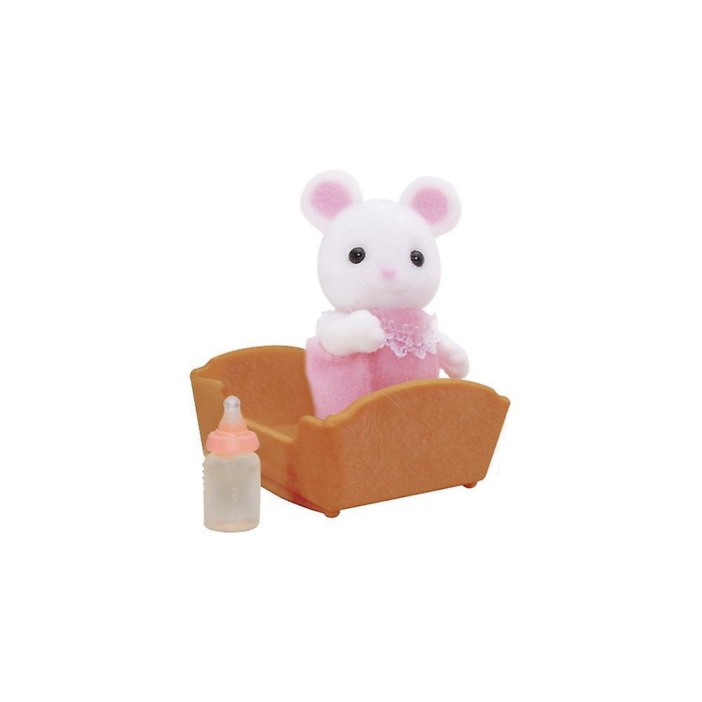 Sylvanian Families White Mouse Baby 5069