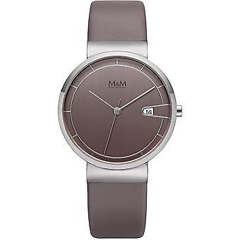 M & M Germany M11953-848 Date Ladies Watch