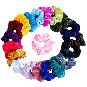 TRIXES Hair Scrunchie Hair Accessories for Girls Elastic Hair Band Multicolour
