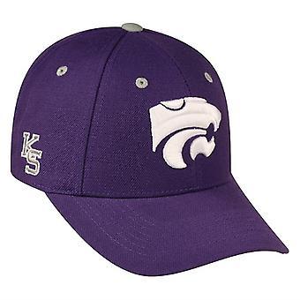 Kansas State Wildcats NCAA TOW Triple Threat Adjustable Hat
