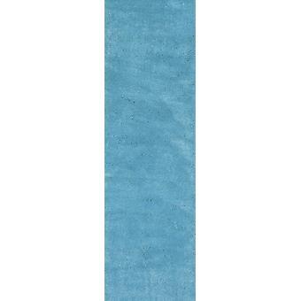7' Korostuskynä Sininen käsin kudottu sisäpano juoksija matto