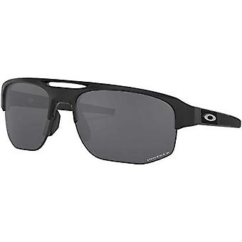 Oakley Men's OO9424 Mercenary Rectangular Sunglasses, Matte, Black, Size 70 mm