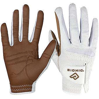 Bionic Women's Right Hand Relax Grip 2.0 Golf Glove - Caramel