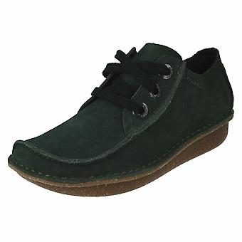 Ladies Clarks Comfortable Lace Up Shoes Funny Dream