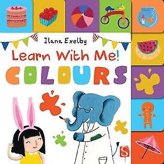 Leer met me kleuren door Ilana Exelby