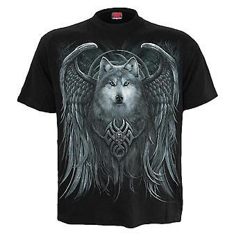 Spiral Wolf Spirit Black T-Shirt M