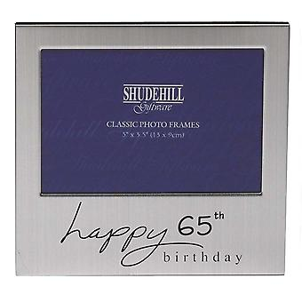 Shudehill Giftware Happy 65th Birthday 5 X 3.5 Photo Frame