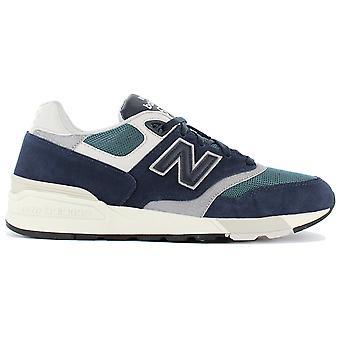 New Balance Classics ML597AAA Herren Schuhe Blau Sneaker Sportschuhe