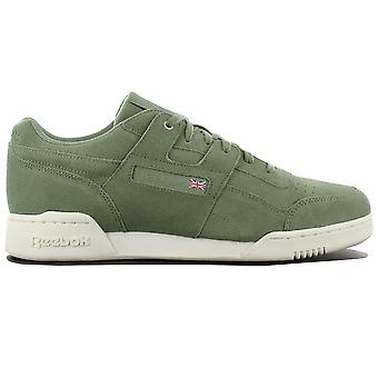 Reebok Workout Plus MCC CM9304 Herren Schuhe Grün Sneakers Sportschuhe