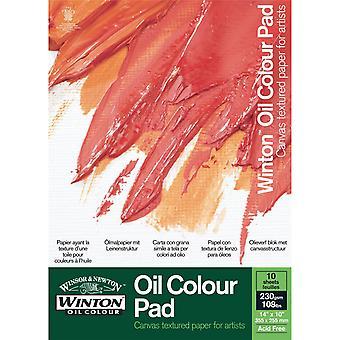 Winsor & Newton Winton Oil Colour Paper Pad - 12 x 9