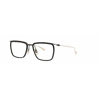 DITA Schema One DTX106 02 Black Iron-Gold Glasses