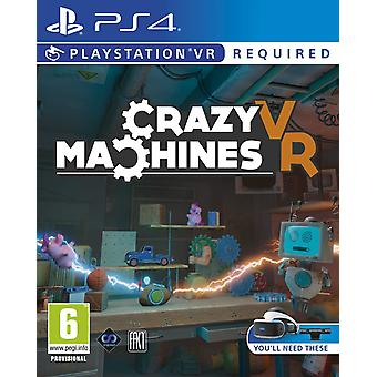 Crazy Machines PSVR PS4 Game (PlayStation VR)