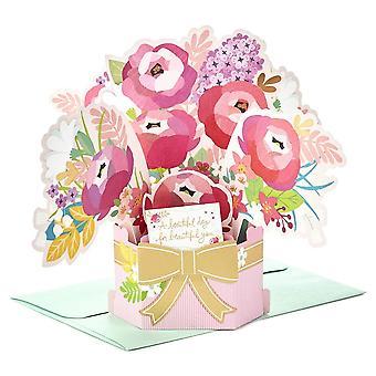Hallmark Paper Wonder Flowers 3d Pop Up Birthday Card 25522157