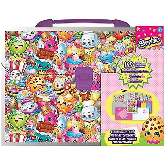 Sticker Activity Kit - Shopkins - Pack Kids Games Toys Decals New st6739