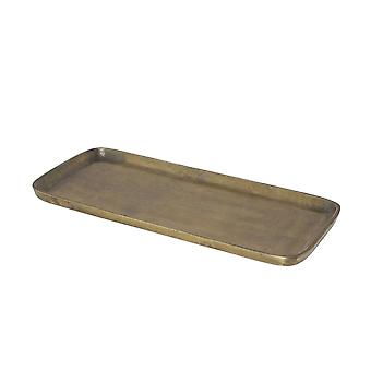 Light & Living Dish 41x17.5cm Lars Raw Antique Bronze