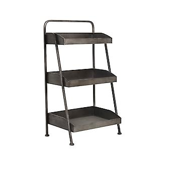 Light & Living Etagere 3 Layers 49.5x34x86cm Kolind Rough Metal