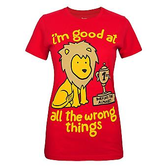 Goodie Two Sleeves Wrong Things Women's T-Shirt