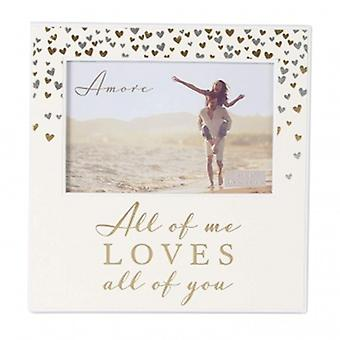 Amore All of Me Loves All Of You Frame
