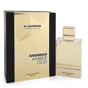 Al Haramain Amber Oud Gold Edition av Al Haramain Eau De Parfum Spray (Unisex) 2 oz / 60 ml (Kvinner)