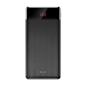 Baseus 10.000mAh External Power Bank Battery Charger Emergency Charger Black