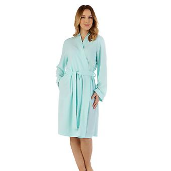 Slenderella HC3300 Women's Cotton Robe Dressing Gown