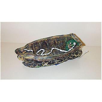 Agrobiothers robåt (fisk, dekorasjon, ornamenter)