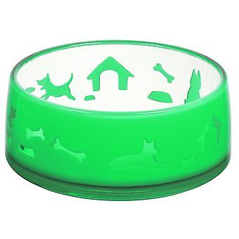 Ferribiella Duoworld Bowl L 1000Ml-17,3X7,2Cm (Dogs , Bowls, Feeders & Water Dispensers)