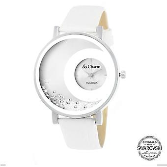 Bekijk so charm horloges MF311-BLANC - Dameshorloge