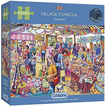 Gibsons 500XXL Piece Village Tombola pussel