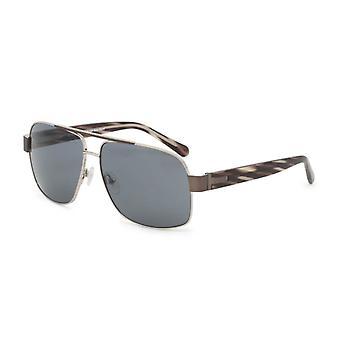 Gissa män' s metallram solglasögon grå gu6765