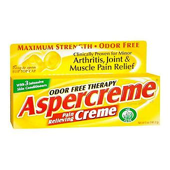 Aspercreme pain relieving creme, 5 oz