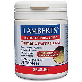 Lamberts Gurkmeja Snabb release tabletter 60 (8548-60)