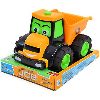 My First JCB Big Wheeler Doug Dumptruck Orange Play Construction Toy Vehicle 12