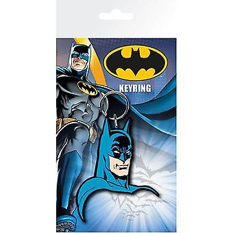 Batman Comic gummi nøglering