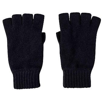 Johnstons of Elgin fingerlose Handschuhe - Navy