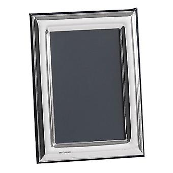 Orton West Plain Polished Photo Frame 2.5x3.5 - Silver