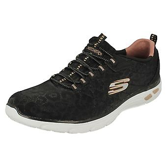 Ladies Skechers Relax Fit Trainers Spotted