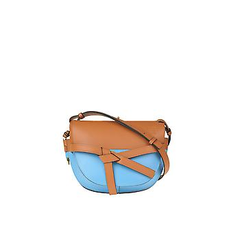 Loewe Ezgl248015 Women's Multicolor Leather Shoulder Bag