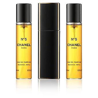 Chanel - No 5 Giftset 2x Edp Spray Refill 20Ml 1x Edp Spray 20Ml - Twist and Spray - Eau De Parfum - 60ML